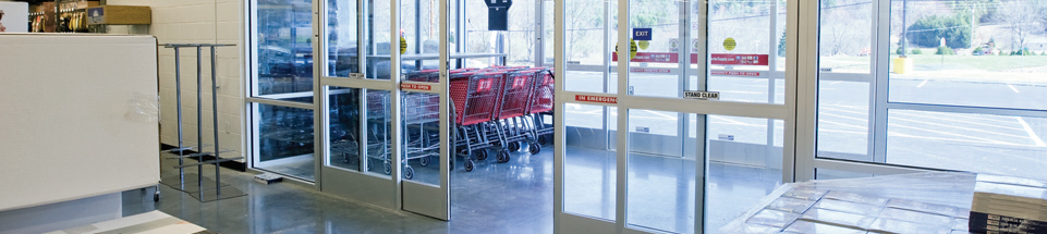 Automatic doors find a supplier for architects